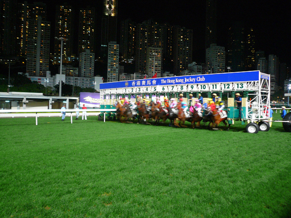 The Hong Kong Jockey Club right in the middle of the city is an AWESOME experience